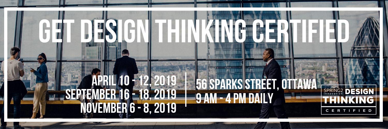 Get Design Thinking Certified in 5 Days!