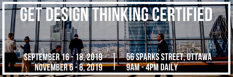 Get Design Thinking Certified!